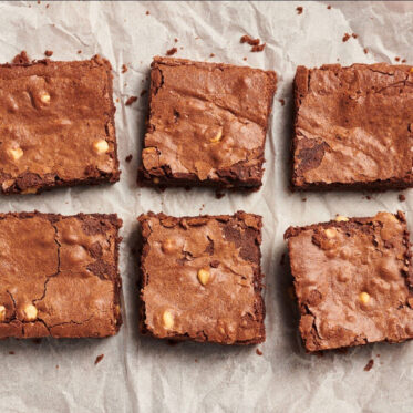 Gourmet Hazelnut Brownies (Serves 4)